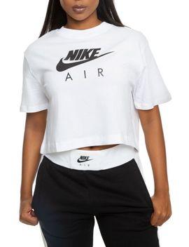 Sportswear Short Sleeve Crop Top White by Shiekh