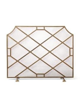 Beckett Fireplace Screen by Frontgate