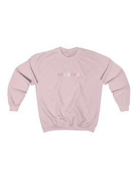 Broken Heart   Be Li Eve D Unisex Crewneck Sweatshirt by Kokopiecoco