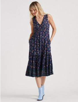 Printed Luna Dress by Lucky Brand