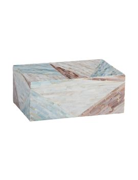 Leona Mother Of Pearl Box by Ethan Allen