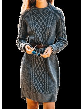 Adirondack Knit Sweater Dress by Kiel James Patrick