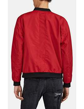 Tech Faille Bomber Jacket by Lot 78 X Barneys New York