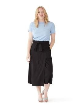 Wrap Skirt   Black by Ban.Do
