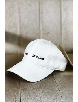 """Between Seasons"" Cap – White by Sisters And Seekers"