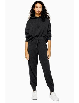 knitted-100%-cashmere-joggers by topshop
