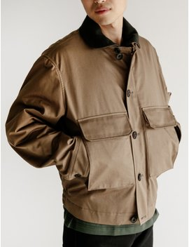Wadded Blouson Tobacco by Neighbour