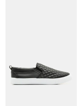 Quilted Slip On Sneakers by Ardene