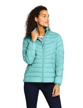 Women's Ultralight Packable Down Jacket by Lands' End