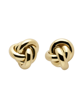 Soho Gold Earrings by P D Paola