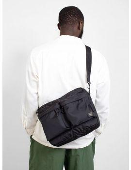 Force Large Shoulder Bag Black by Porter Yoshida & Co.