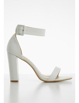 Jenny Block Heel   White by Superbalist