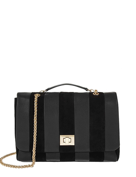 Jamie Leather Cross Body Bag by Accessorize