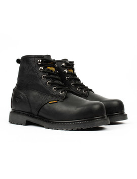 Slip Resistant Work Boots // Black by Touch Of Modern