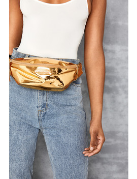 Gold Bum Bag by Mistress Rocks