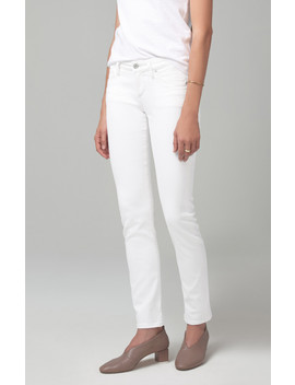 Racer Low Rise Skinny In Sea Salt by Citizens Of Humanity