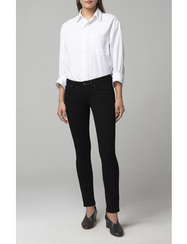Racer Low Rise Skinny In Plush Black by Citizens Of Humanity