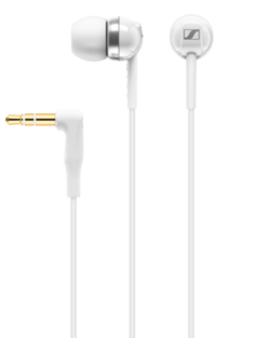 Sennheiser Cx 100 In Ear Wired Headphones   White by Argos