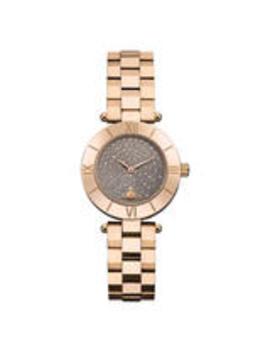 Vivienne Westwood Bloomsbury Gold Tone Ladies Watch by Beaverbrooks