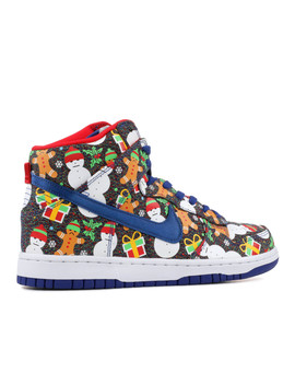 "Nike Dunk High Sb (Gs) ""Ugly Christmas Sweater"" by Nike"