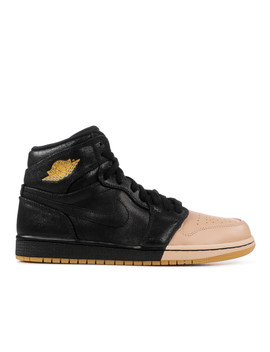 "Wmns Air Jordan 1 Ret Hi Prem ""Dipped Toe"" by Nike"