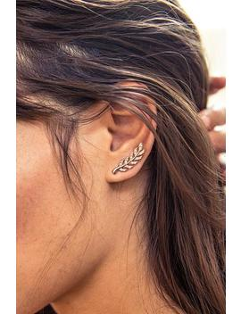 Stylish Leaf Shaped Earring by Cupshe