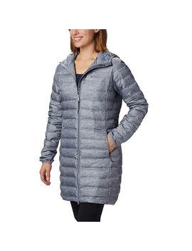 womens-lake-22-down-long-hooded-jacket by columbia-sportswear