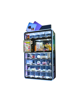 Custom Automatic Snack Cosmetic Smart Vending Machine With Touch Screen by Sinjoy