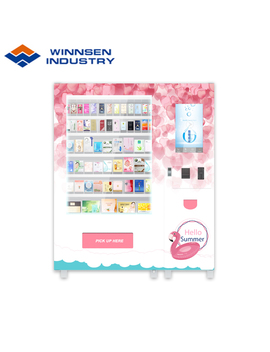 Custom Smart Hair Beauty Vending Machines With Large Touch Screen by Winnsen