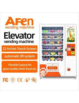 Afen Ramen Noodles Vendor Vending Machine With Conveyor And Advertising Screen by Afen, Afen