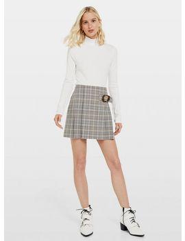 Heritage Check Kilt Skirt by Miss Selfridge