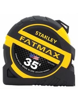Stanley Proto Industrial Tools Fmht33509 S Stanley 35 Ft. Steel Sae Tape Measure, Yellow/Black   Fmht33509 S Stanley Proto Industrial Tools Fmht33509 S Stanley 35 Ft. Steel Sae Tape Measure, Yellow/Black   Fmht33509 S by Stanley