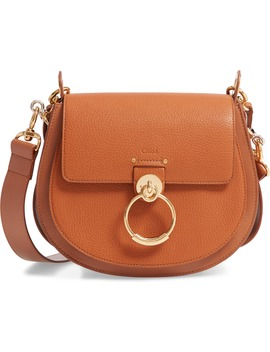 large-tess-grained-leather-shoulder-bag by chloÉ