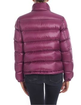 Copenhague Down Jacket In Purple by Moncler