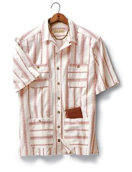 Guatemala Dobby Stripe Shirt by Metrostyle