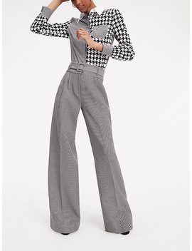 Zendaya Houndstooth Check Trousers by Tommy Hilfiger