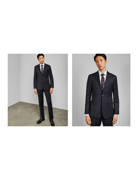 Endurance Two Piece Wool Suit by Ted Baker