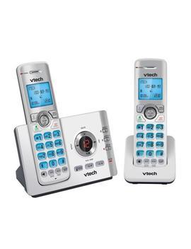 V Tech 17550 2 Handset Dect6.0 Cordless Phone by Jb Hi Fi
