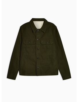 Selected Homme Green James Workwear Jacket by Topman