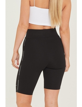 Future Black Tape Legging Short by Good For Nothing Womens