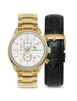 The Chrono S Limited Release Gold Reserve Set 40mm by Vincero