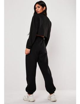 Tall Black Oversized 90's Joggers by Missguided