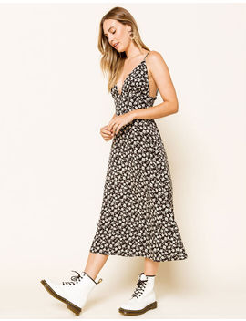 West Of Melrose Ditsy Spell Midi Dress by West Of Melrose