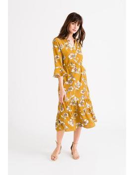 Celina Dress   Mustard by Petite Studio