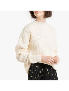 Chunky Knit Jumper With Crew Neck by La Redoute Collections