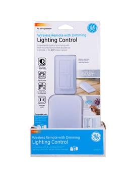 Wireless Remote With Lamp Dimmer Lighting Control, White by Ge