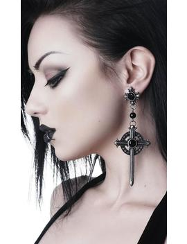 Rosary | Earrings by Killstar