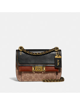 Troupe Crossbody In Signature Canvas by Coach