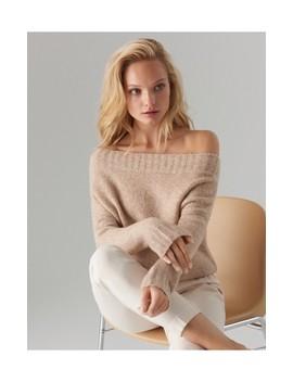 Sweter Z Prostym Dekoltem by Mohito