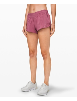 "Hotty Hot Short Ii 2.5""New by Lululemon"